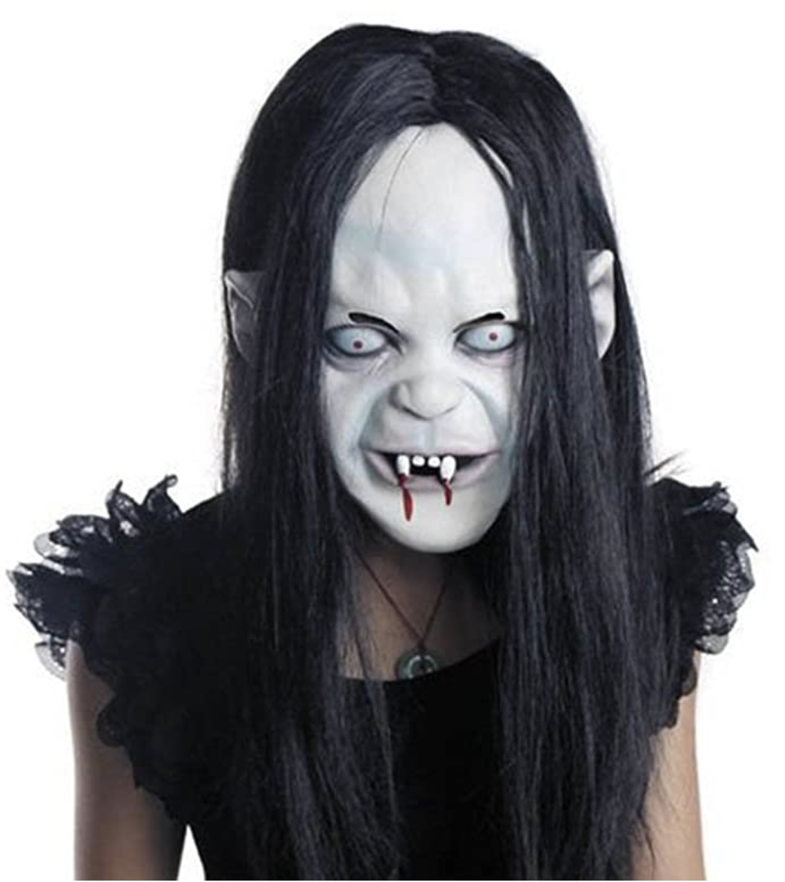 scary female mask